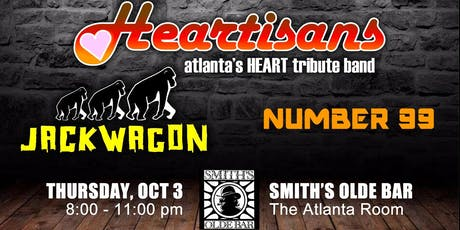 Heartisans / Jackwagon / Number 99 tickets