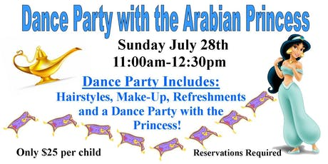 Dance Party with the Arabian Princess tickets