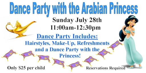 Dance Party with the Arabian Princess