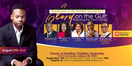 Worshippers on the Frontline Summit 2019 tickets