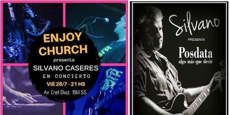 Silvano Caceres en Concierto - Enjoy Music entradas