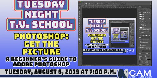Tuesday Night TV School - 'Photoshop - Getting The Picture'