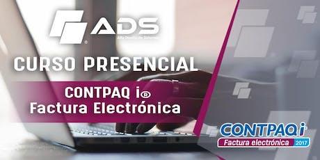 Curso Presencial de CONTPAQ i® Factura Electrónica entradas