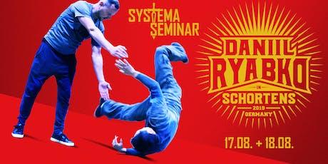 DANIIL RYABKO - Systema Seminar in SCHORTENS Tickets