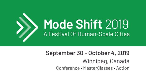 ALL ACCESS - Mode Shift 2019 - A Festival Of Human-Scale Cities