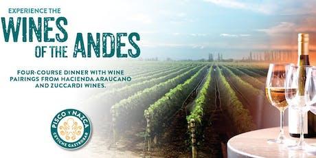 Wine Pairing Dinner at Pisco y Nazca Doral!  tickets