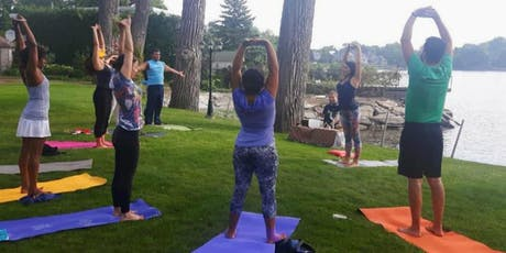 Yoga, Sound Therapy & Massage on the Waterfront tickets
