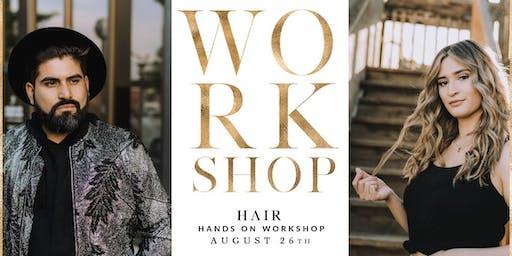 Blonding Color Work Shop with Kyra Lopez & Fernando Navarro