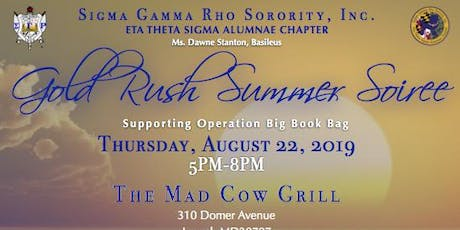 Golden Rush Summer Soiree tickets
