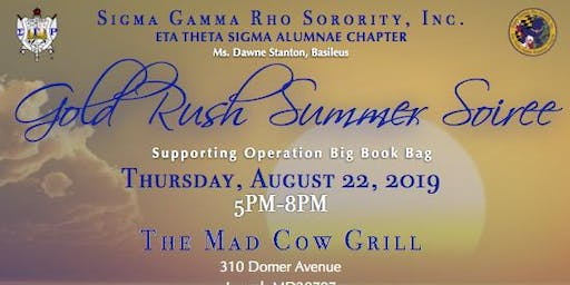 Gold Rush Summer Soiree