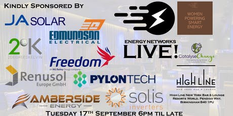 Energy Networks/Women Powering Smart Energy Live! tickets