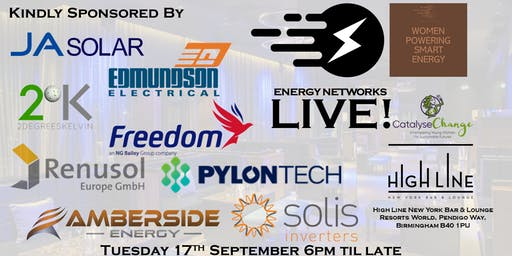 Energy Networks/Women Powering Smart Energy Live!