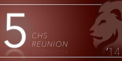 CHS Class of 2014's 5 Year Reunion