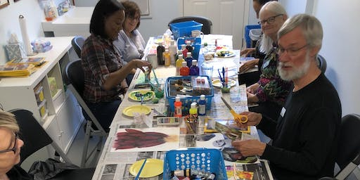 Painting and Prayer with Clay [Brantley] 11/20/19  1-3pm