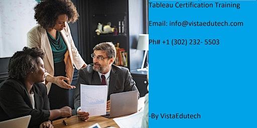 Tableau Certification Training in Fort Wayne, IN