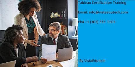 Tableau Certification Training in Goldsboro, NC tickets