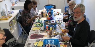 *Evening Session* Contemplative Painting with Clay [Brantley] 8/29/19  7:00pm