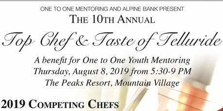 Top Chef and Taste of Telluride 2019 tickets