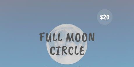 Full Moon Circle in Aquarius  tickets