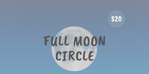 Full Moon Circle in Aquarius
