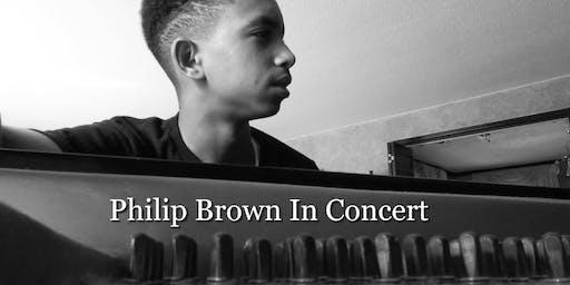Philip Brown In Concert