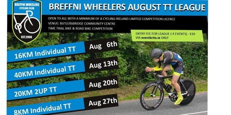 Breffni Wheelers August TT League tickets