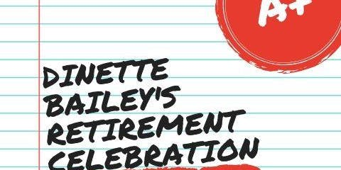 Dinette's Retirement Celebration