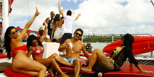 VIP ALL INCLUSIVE PARTY BOAT MIAMI