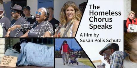 The Homeless Chorus Speaks documentary screening tickets
