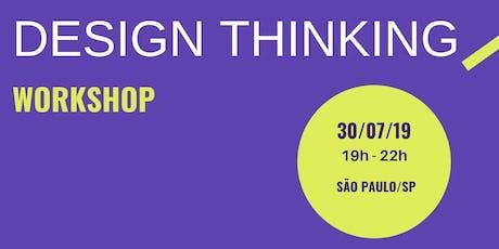 Design Thinking - Workshop ingressos