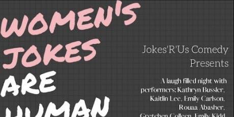 Women's Jokes are Human Jokes tickets
