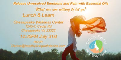 Release Unresolved Emotions and Pain with Essential Oils
