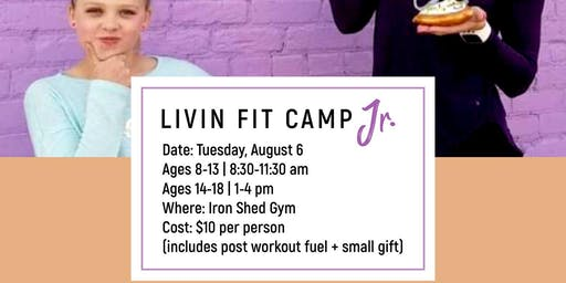 LIVIN FIT CAMP JR