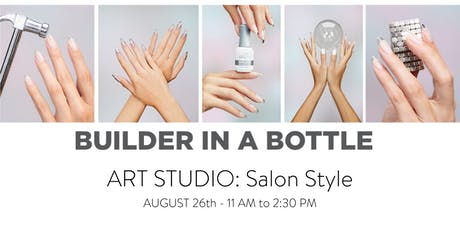 Builder In A Bottle Art Studio: Salon Style tickets