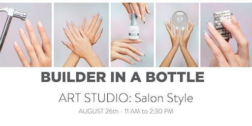 Builder In A Bottle Art Studio: Salon Style
