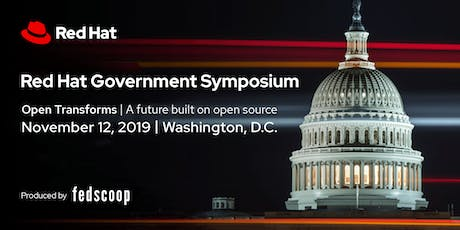 Red Hat Government Symposium 2019 tickets
