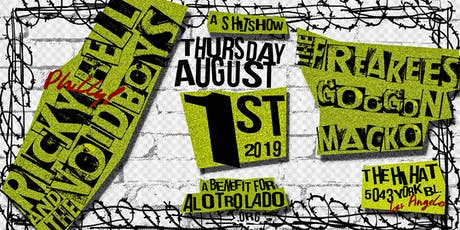 Benefit for Al Otro Lado ft. Ricky Hell & The Voidboys, The Freakees & more tickets