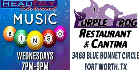 Music Bingo at The Purple Frog Restaurant & Cantina - Fort Worth, TX tickets