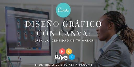 DISEÑO GRÁFICO CON CANVA:  CREA LA IDENTIDAD DE TU MARCA