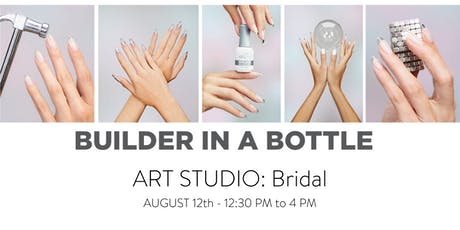 Builder In A Bottle Art Studio: Bridal tickets