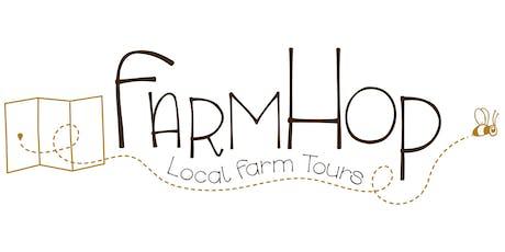 2019 FarmHop: local farm tours tickets