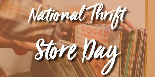 National Thrift Store Day at Treasure Trunk Community Thrift