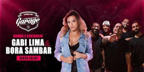 Balada Sertaneja com Gabi Lima ingressos