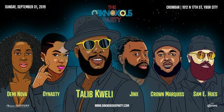 Obknoxious Concert ft. Talib Kweli and Friends  tickets
