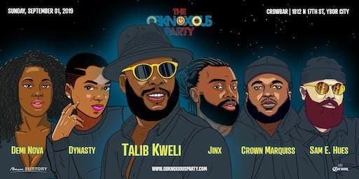 Obknoxious Concert ft. Talib Kweli and Friends