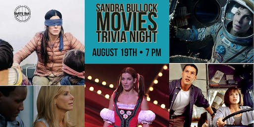 Sandra Bullock Movies Trivia Night