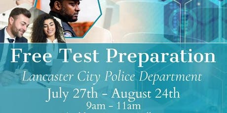 FREE POLICE EXAM PREPARATION AND JOB RECRUITMENT tickets