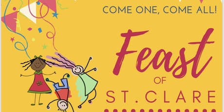 Feast of St. Clare tickets