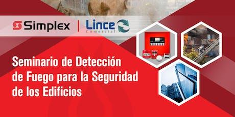 Seminario de Detección de Fuego para la Seguridad de los Edificios. entradas