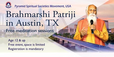 Free Meditation Session by Brahmarshi Pitamaha Patriji tickets